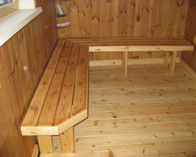 Как сделать деревянный настил в баню - ЗНАТНЫЙ ПЛОТНИК