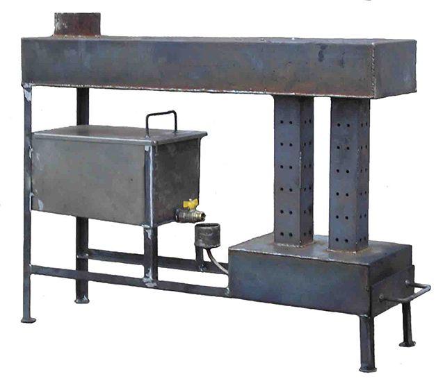Печь на отработанном масле - эффективный отопительный прибор, но и опасный