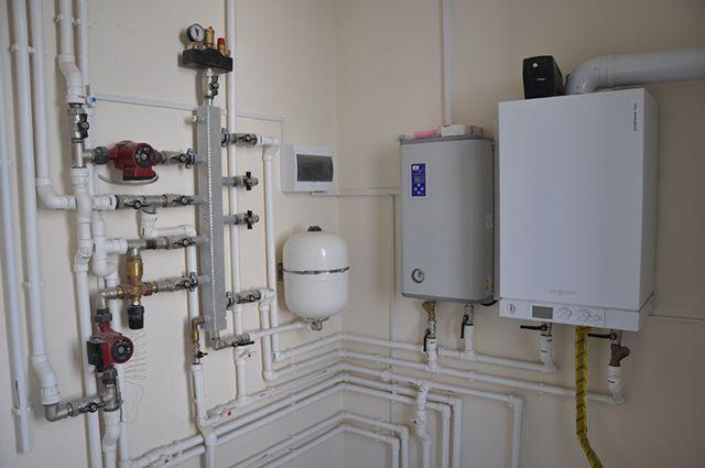 Газовый и электрический котел могут быть частью одной системы отопления