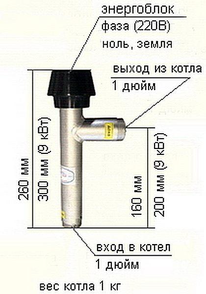 Электродный котел BERIL 9/220,