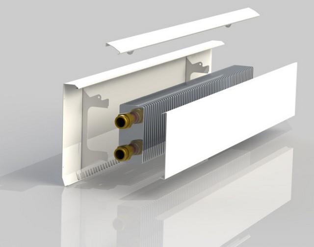 Конструкция обычного конвектора - очень незамысловата