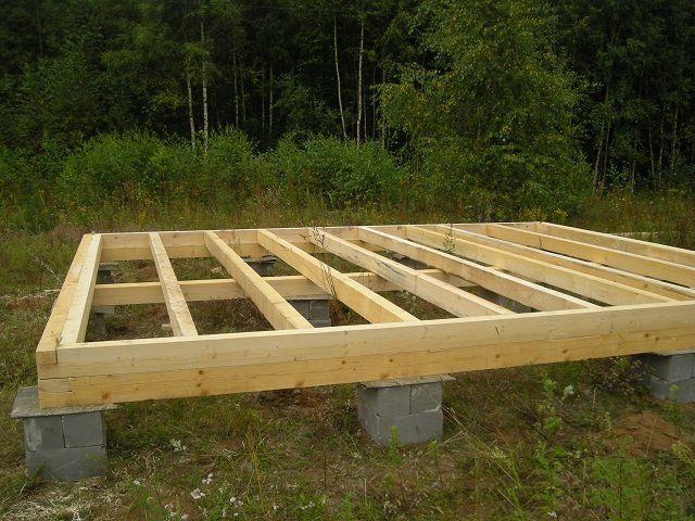 Как построить дом из бруса 6 на 6 своими руками