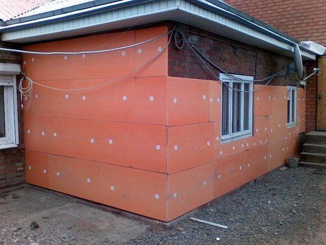 Пеноплекс для утепления стен
