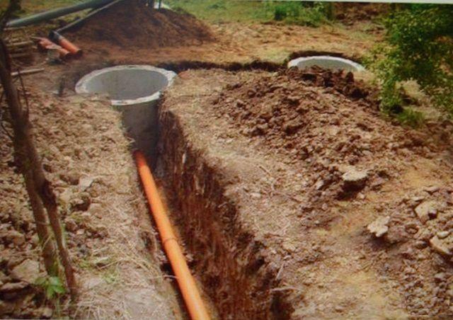 На этом же этапе обычно предусматривают и канализацию