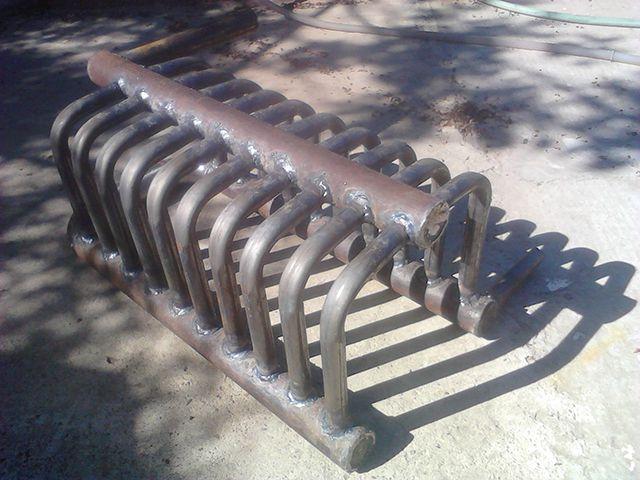 Теплообменник из стальных толстостенных труб