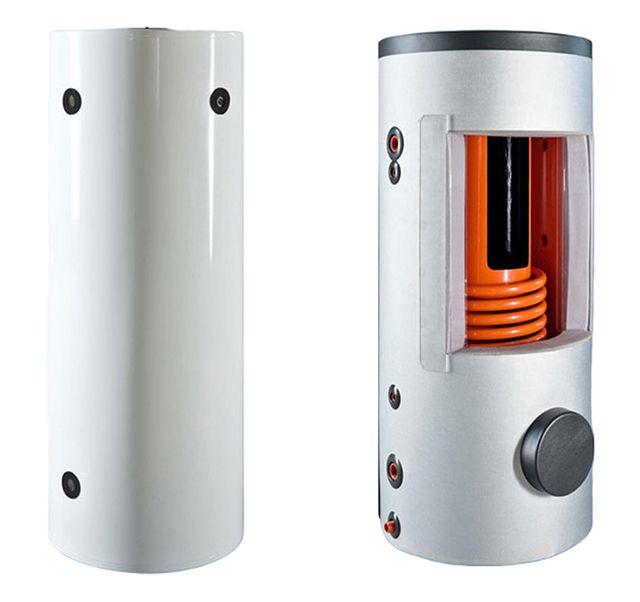 Теплоаккумулятор в разрезе