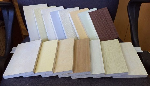 Относительно новый отделочный материал - гипсовиниловые панели