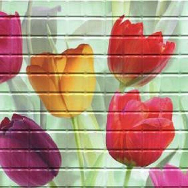 ПВХ-панель с цветным рисунком
