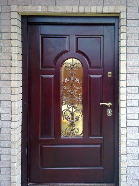 стальные двери на коттедж