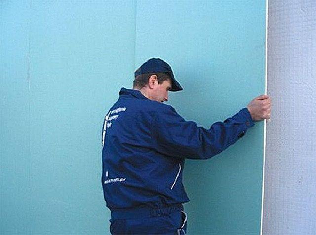 Как крепить гипсокартон к стене без профилей