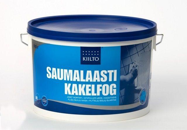 Широкая популярность - у составов финской компании «Kiilto»