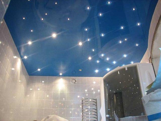 Натяжной потолок - и красиво, и практично