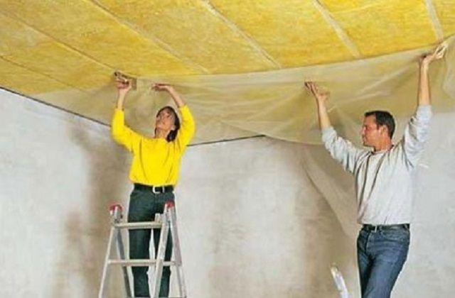 Как утеплить потолок минватой