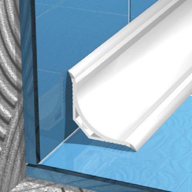 Чем приклеить пластиковый уголок в ванной