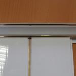 Пример установки панелей в провиль