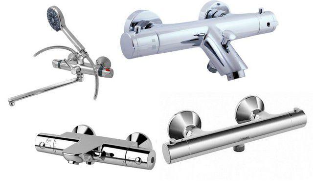 Чрезвычайно удобны в использовании смесители с термостатическим регулированием потока воды