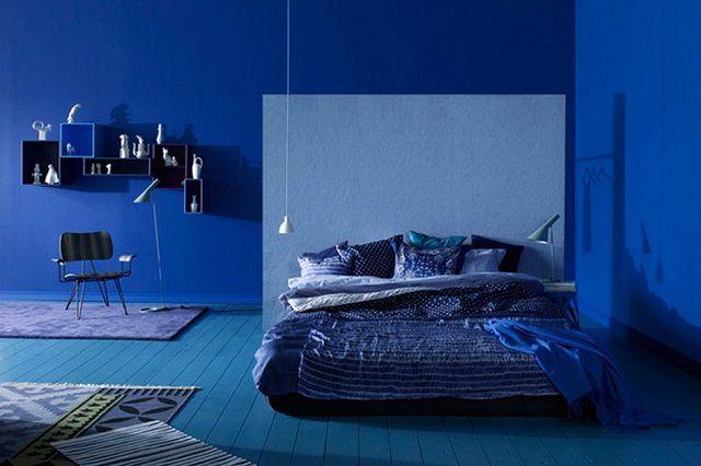 """Тяжелый синий цвет - несколько """"тревожен"""", иногда неблагоприятно влияет на психику и мешает качественному отдыху"""