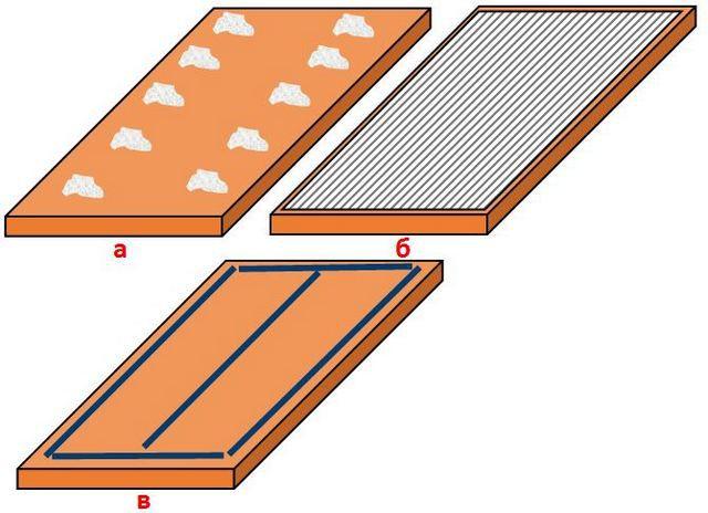 Как наносят клей на плиты пеноплекса