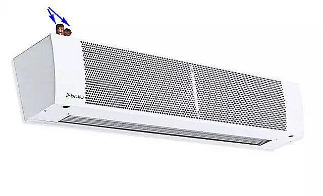 """Патрубки для подключения подачи и """"обратки"""" системы отопления дома"""