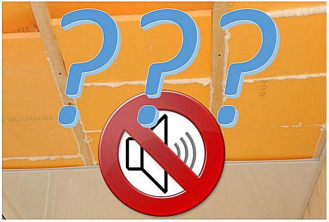 Пеноплекс звукоизоляция потолка