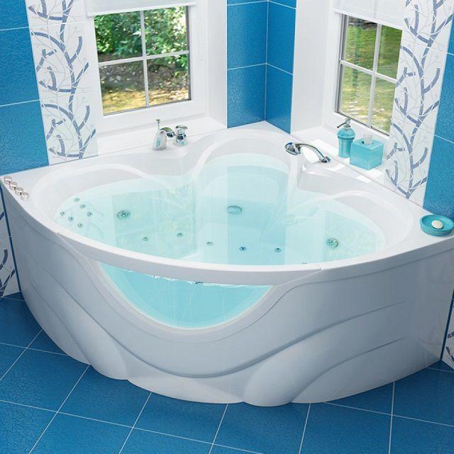 Вода в акриловой ванне остывает намного дольше, чем в металлической