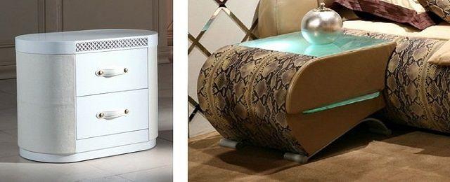 """Для спальной рекомендуется мебель """"смягченных"""" форм, с закругленными углами"""