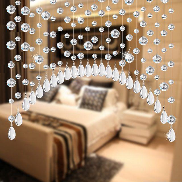 Подобная штора из бусин способна замедлить или даже полностью отразить поток негативной энергии