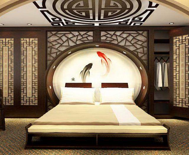 Кровать с овальной спинкой