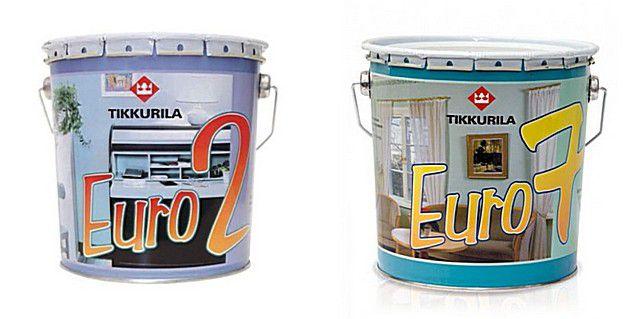 Краски известной финской компании «Tikkurila»