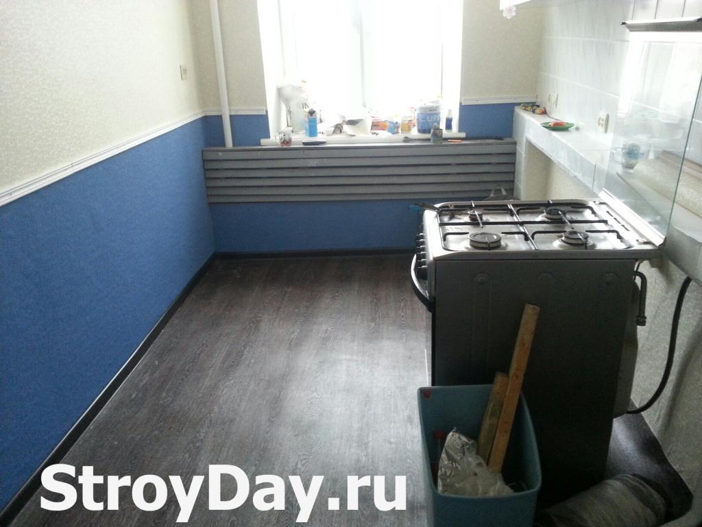 Косметический ремонт на кухне в хрущевке закончен
