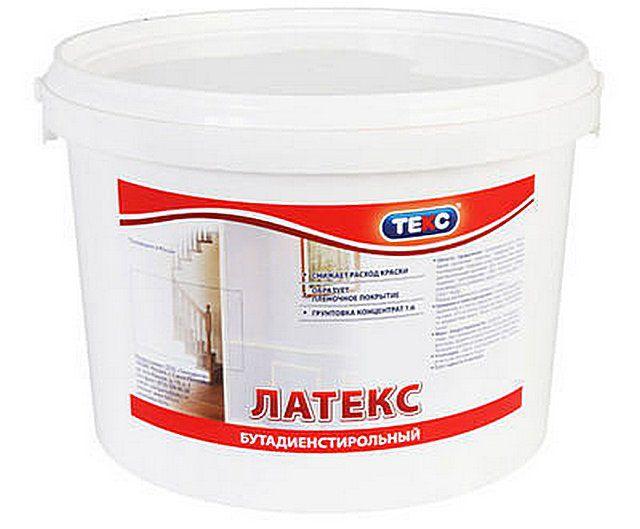 Бутадиен-стирольные составы лучше применять в качестве грунта