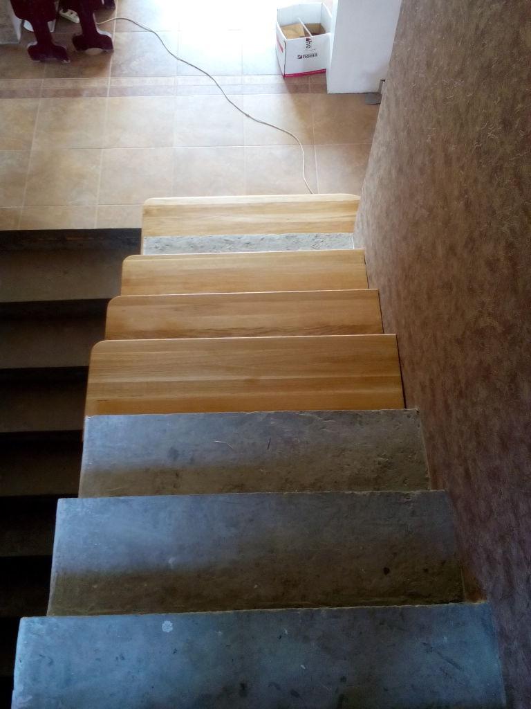 Фото 6. Облицовка ступеней