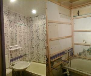 Как своими руками обшить ванную панелями - Stroisipplast.ru