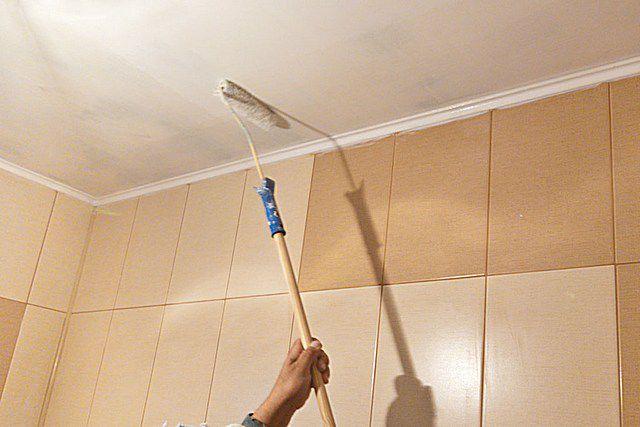 Краска для потолка какая лучше
