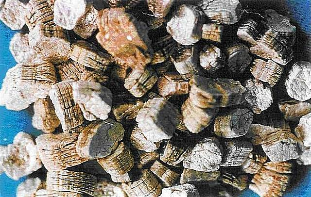 Слоистые гранулы вермикулита