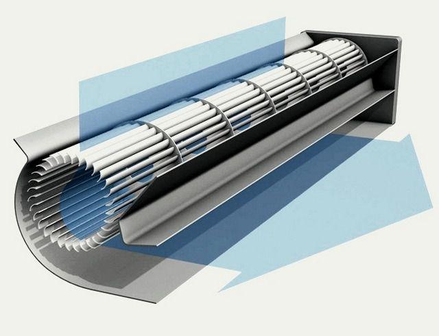 Длина турбины обычно ограничивается - до 800 мм