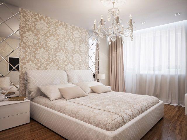 Лучше бежевых оттенков для спальной, наверное, и не придумаешь