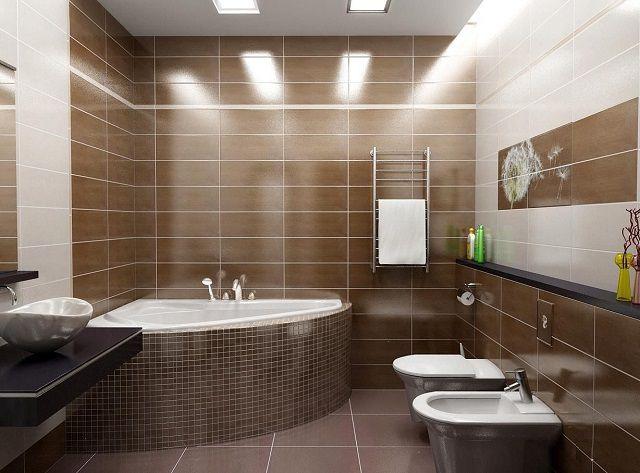 Кардинально измененный интерьер ванной комнаты