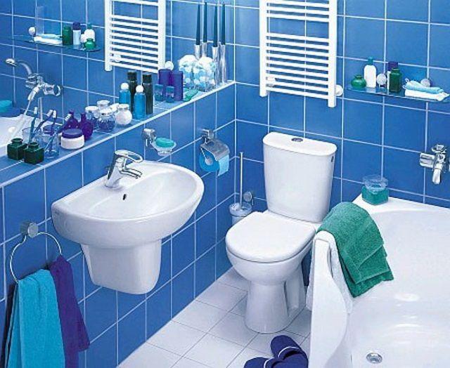 Интерьеры небольших ванных комнат