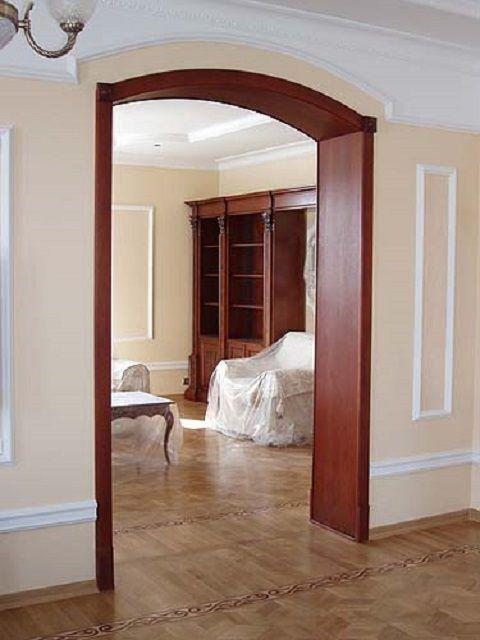 Столы из соснОформление арки в квартире своими