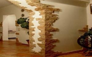 Отделка арок декоративным камнем своими руками