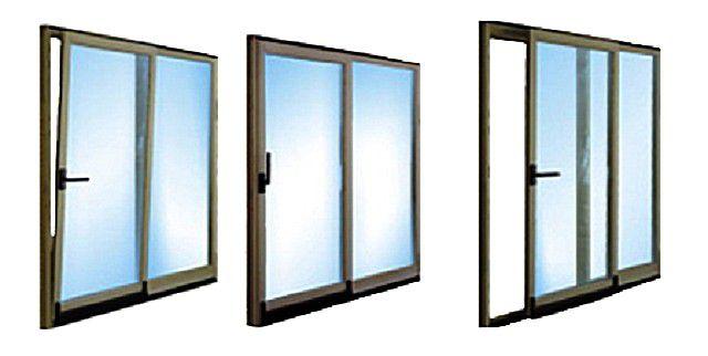 Различные положения створки наклонно-сдвижной системы окна