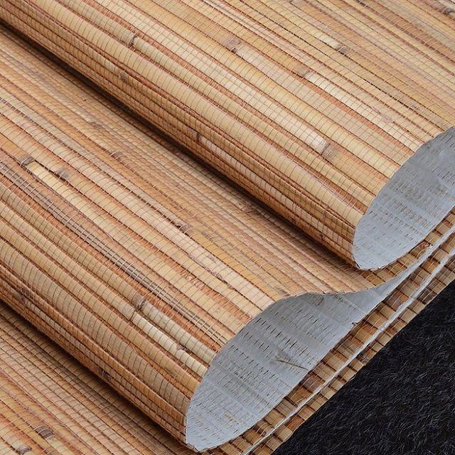 Очень необычные обои из бамбуковых волокон