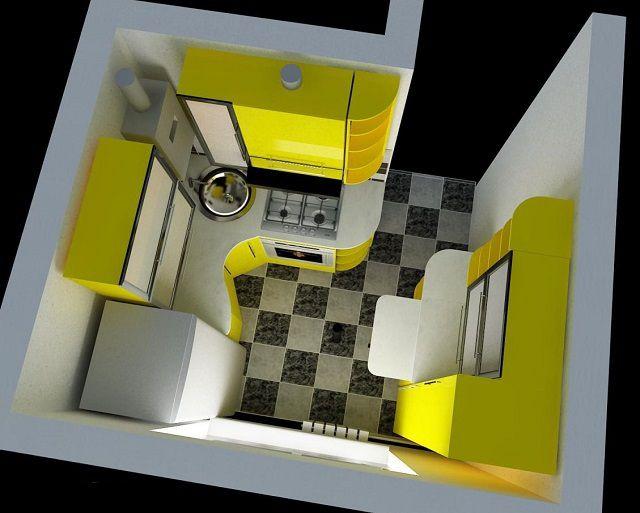 Основа основ оптимального размещения мебели на кухне - тщательное предварительное планирование