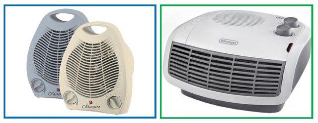 Тепловые вентиляторы вертикальной и горизонтальной установки