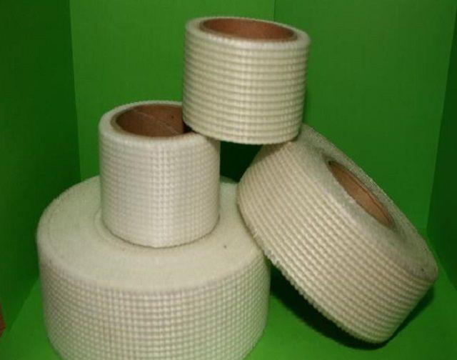 Ленты стекловолоконной сетки для армирования швов и стыков