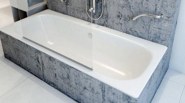Самое привлекательное достоинство стальных ванн - невысокая стоимость