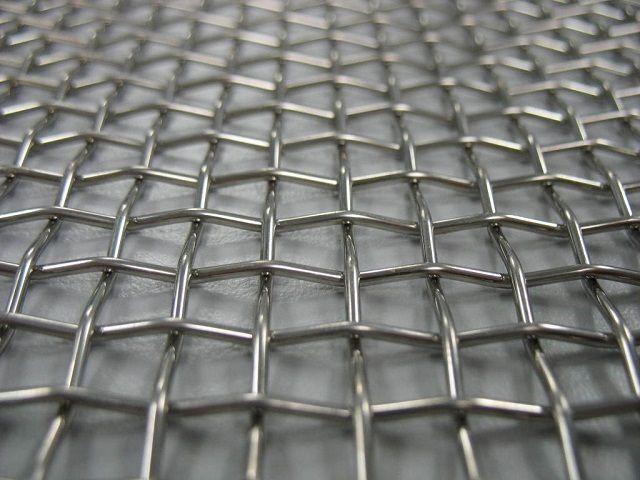 Тканая металлическая сетка
