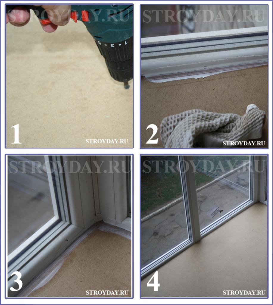 Финишные работы по приданию балкону приглядного внешнего вида