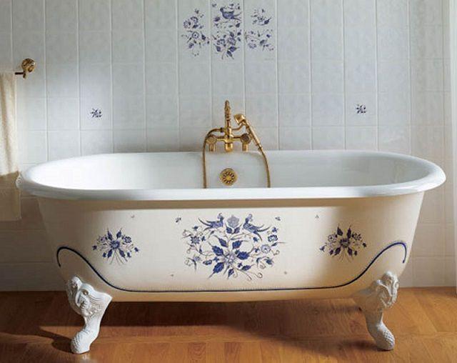 Массивные чугунные ванны имеют целый ряд неоспоримых достоинств